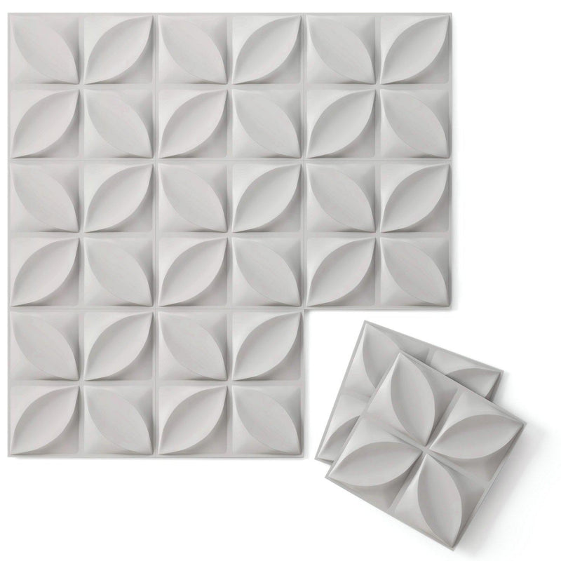 Luxe Supermatte Wall Flats - 3D Wall Panels - Chrysalis 3D Supermatte Wall Flats - 3 - Inhabit