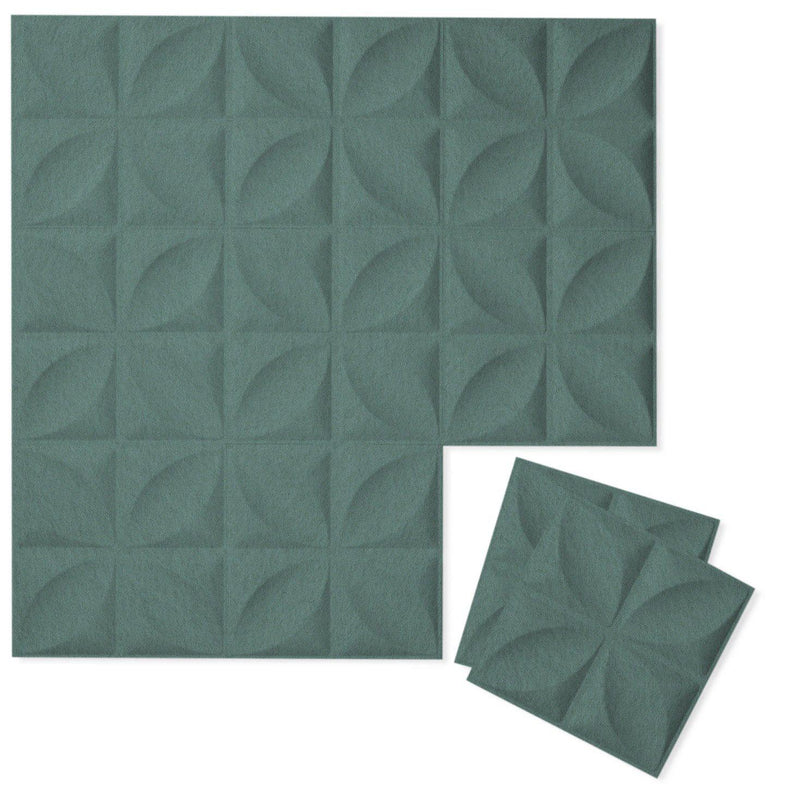 Felt 3D Wall Flats - Acoustic Panels - Chrysalis 3D Wool Felt Wall Flats - 5 - Inhabit