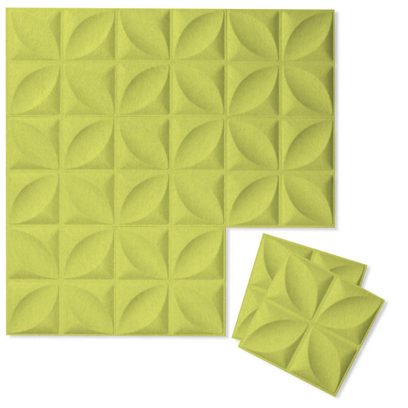 Felt 3D Wall Flats - Acoustic Panels - Chrysalis 3D Wool Felt Wall Flats - 13 - Inhabit