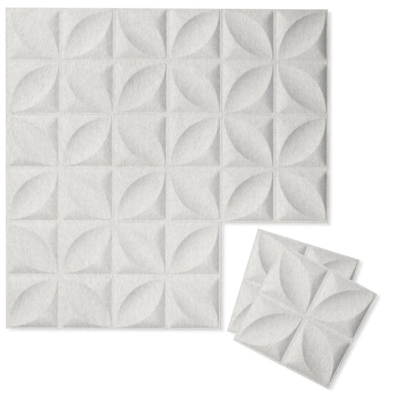 Felt 3D Wall Flats - Acoustic Panels - Chrysalis 3D Wool Felt Wall Flats - 9 - Inhabit