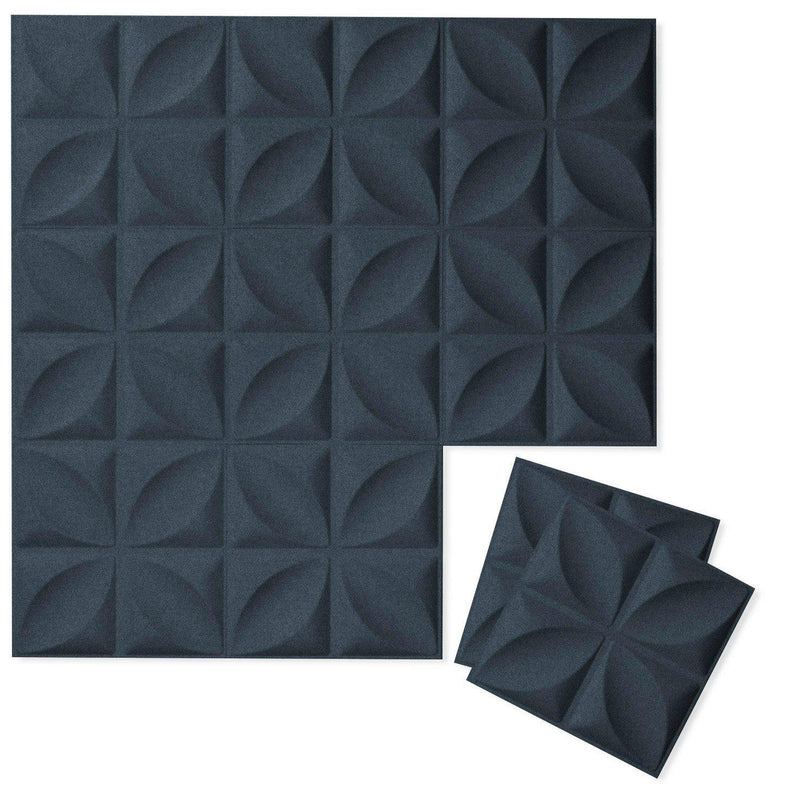 Felt 3D Wall Flats - Acoustic Panels - Chrysalis 3D Wool Felt Wall Flats - 6 - Inhabit