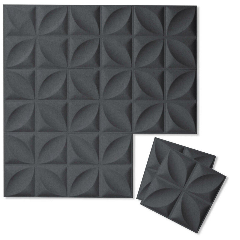 Felt 3D Wall Flats - Acoustic Panels - Chrysalis 3D Wool Felt Wall Flats - 4 - Inhabit