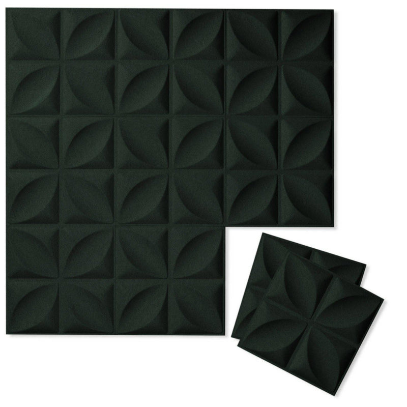 Felt 3D Wall Flats - Acoustic Panels - Chrysalis 3D Wool Felt Wall Flats - 7 - Inhabit