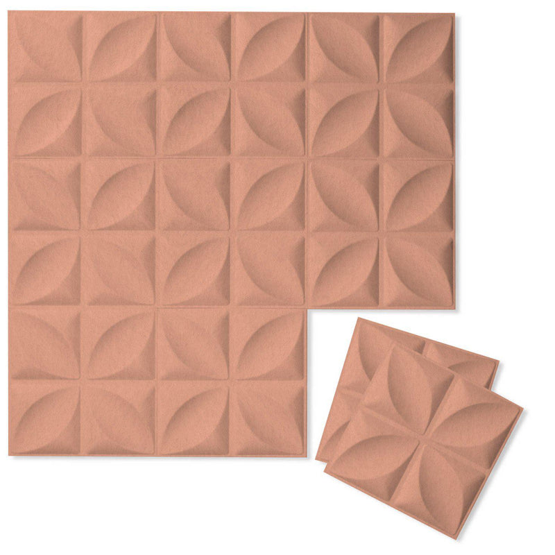 Felt 3D Wall Flats - Acoustic Panels - Chrysalis 3D Wool Felt Wall Flats - 11 - Inhabit