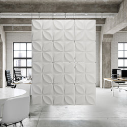 Hanging Wall Flat Systems - Chrysalis Hanging Paintable Wall Flat System - 3D Wall Panels - 1 - Inhabit