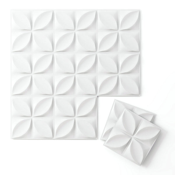 Wall Flats - 3D Wall Panels - Chrysalis Wall Flats - 2 - Inhabit