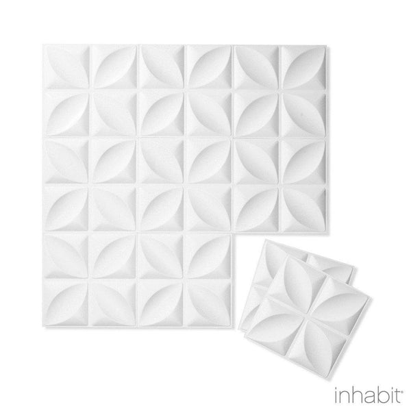 Chrysalis Wall Flats - 3D Wall Panels - Sample Panel- Wall Flats - 3D Wall Panels - Inhabitliving.com - Inhabit - 2