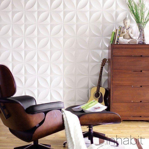 Chrysalis Wall Flats - 3D Wall Panels - - Wall Flats - 3D Wall Panels - Inhabitliving.com - Inhabit - 1