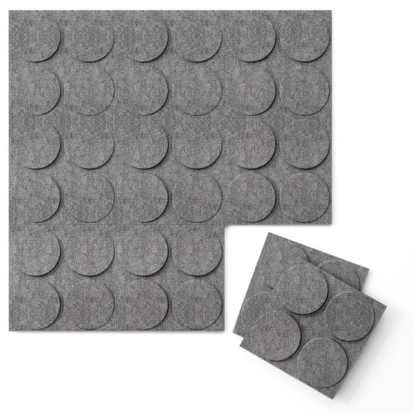 Felt 3D Wall Flats - Acoustic Panels - Cirque 3D PET Felt Wall Flats - 1 - Inhabit