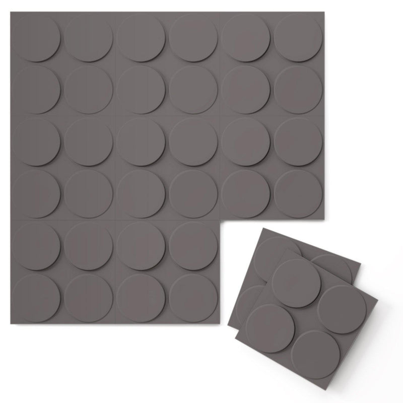 Luxe Supermatte Wall Flats - 3D Wall Panels - Cirque 3D Supermatte Wall Flats - 6 - Inhabit