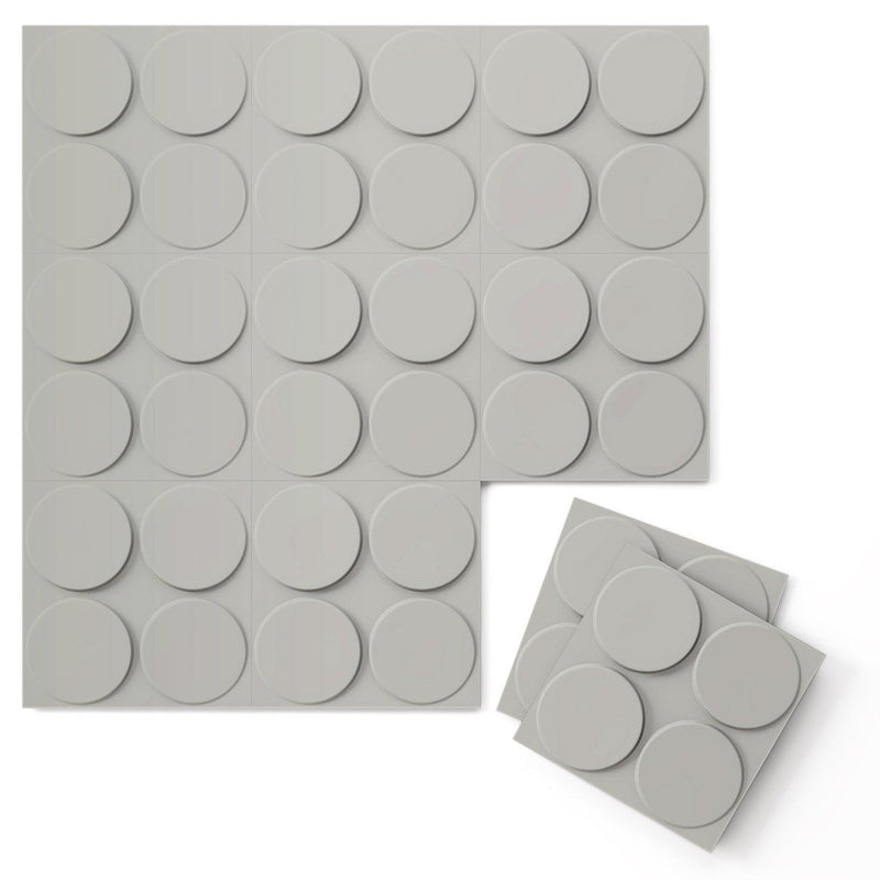 Luxe Supermatte Wall Flats - 3D Wall Panels - Cirque 3D Supermatte Wall Flats - 7 - Inhabit