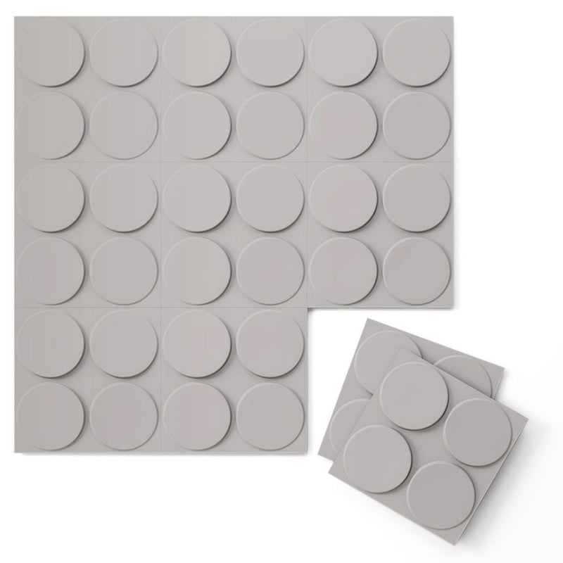 Luxe Supermatte Wall Flats - 3D Wall Panels - Cirque 3D Supermatte Wall Flats - 5 - Inhabit