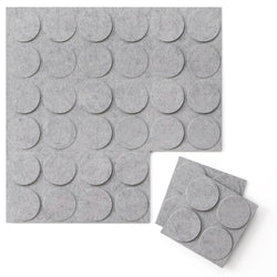 Felt 3D Wall Flats - Acoustic Panels - Cirque 3D Wool Felt Wall Flats - 3 - Inhabit