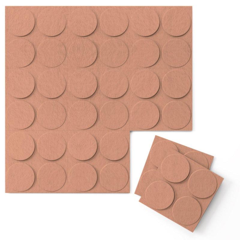 Felt 3D Wall Flats - Acoustic Panels - Cirque 3D Wool Felt Wall Flats - 11 - Inhabit