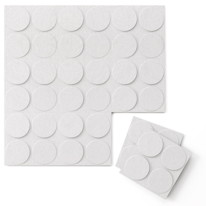Felt 3D Wall Flats - Acoustic Panels - Cirque 3D Wool Felt Wall Flats - 9 - Inhabit