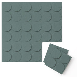 Felt 3D Wall Flats - Acoustic Panels - Cirque 3D Wool Felt Wall Flats - 1 - Inhabit