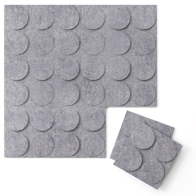 Felt 3D Wall Flats - Acoustic Panels - Cirque 3D Wool Felt Wall Flats - 4 - Inhabit