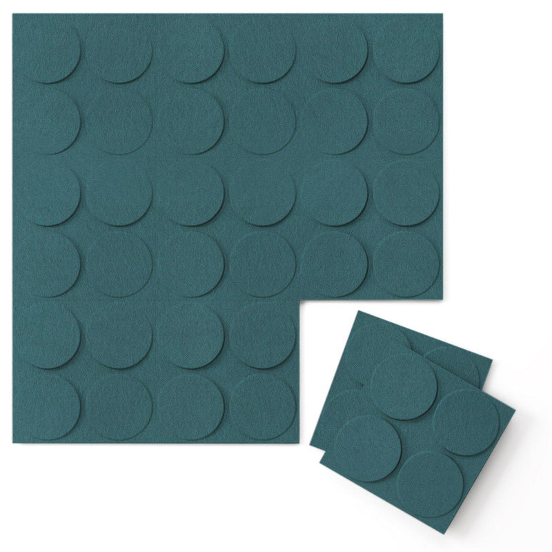Felt 3D Wall Flats - Acoustic Panels - Cirque 3D Wool Felt Wall Flats - 14 - Inhabit