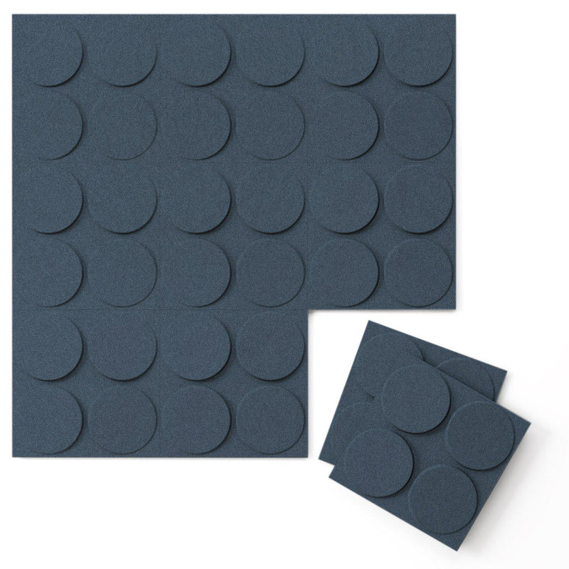 Felt 3D Wall Flats - Acoustic Panels - Cirque 3D Wool Felt Wall Flats - 6 - Inhabit