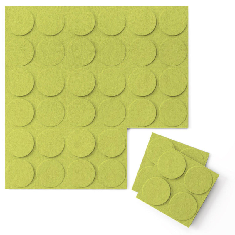 Felt 3D Wall Flats - Acoustic Panels - Cirque 3D Wool Felt Wall Flats - 13 - Inhabit