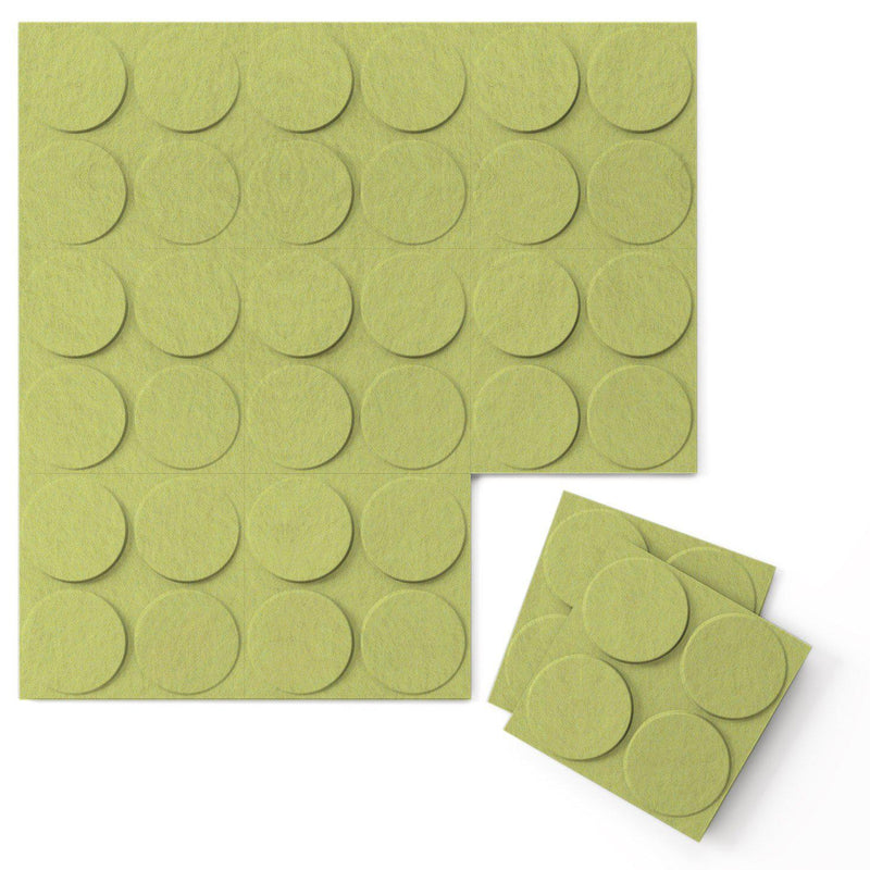 Felt 3D Wall Flats - Acoustic Panels - Cirque 3D Wool Felt Wall Flats - 12 - Inhabit