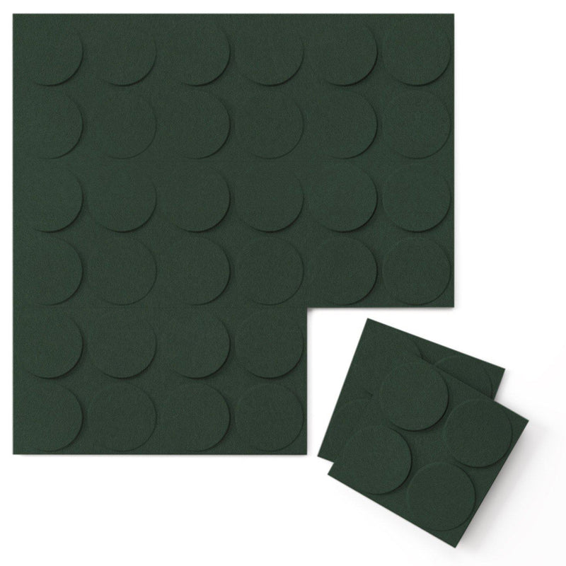 Felt 3D Wall Flats - Acoustic Panels - Cirque 3D Wool Felt Wall Flats - 7 - Inhabit