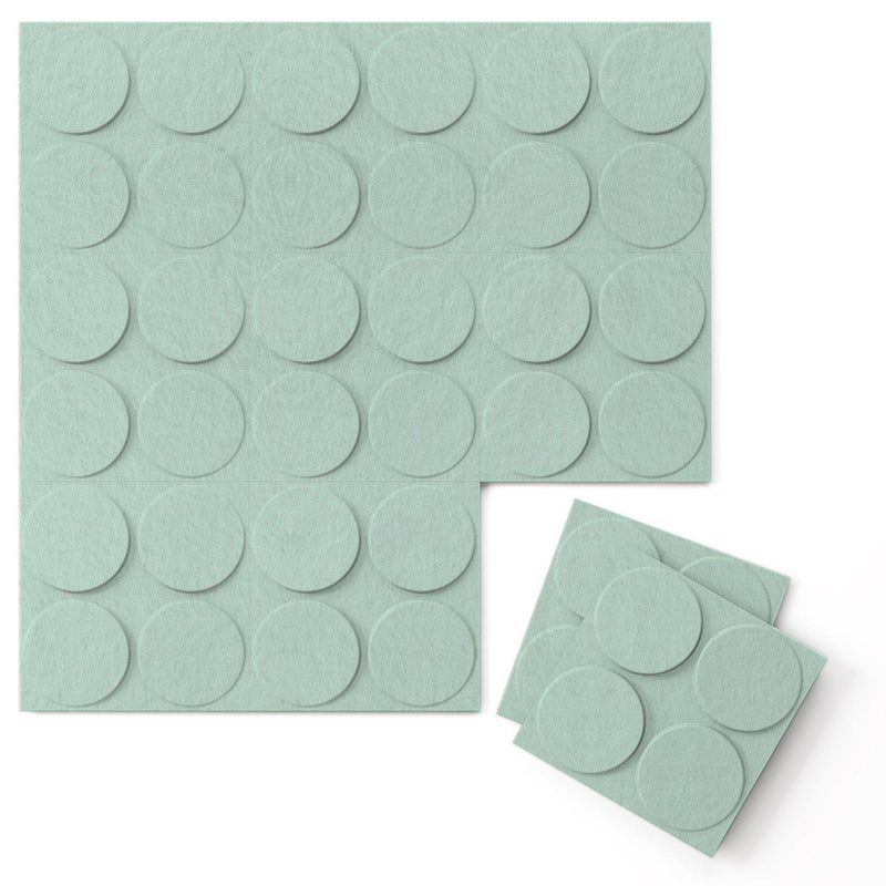 Felt 3D Wall Flats - Acoustic Panels - Cirque 3D Wool Felt Wall Flats - 10 - Inhabit