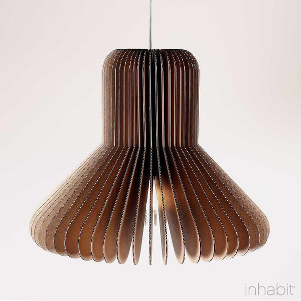 Cohen Natural Sculptural Pendant Light - Corrulight Ceiling Lighting - 1 - Inhabit