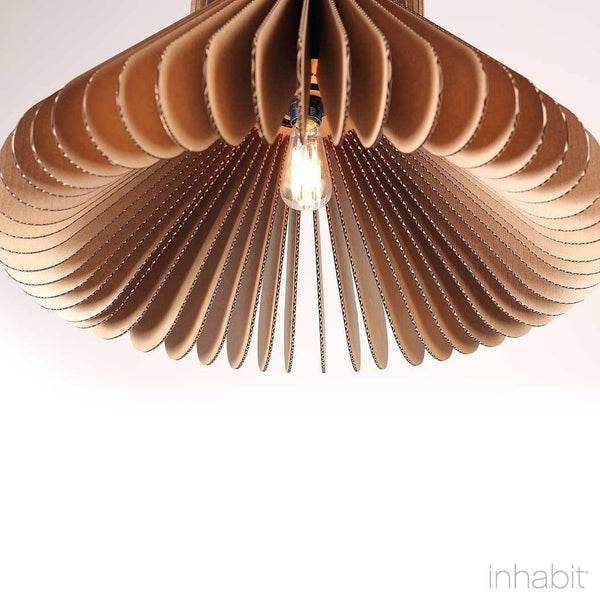 Cohen Natural Sculptural Pendant Light - Corrulight Ceiling Lighting - 2 - Inhabit