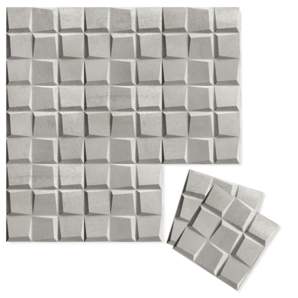 Luxe Supermatte Wall Flats - 3D Wall Panels - Cubit 3D Luxe Wall Flats - 1 - Inhabit