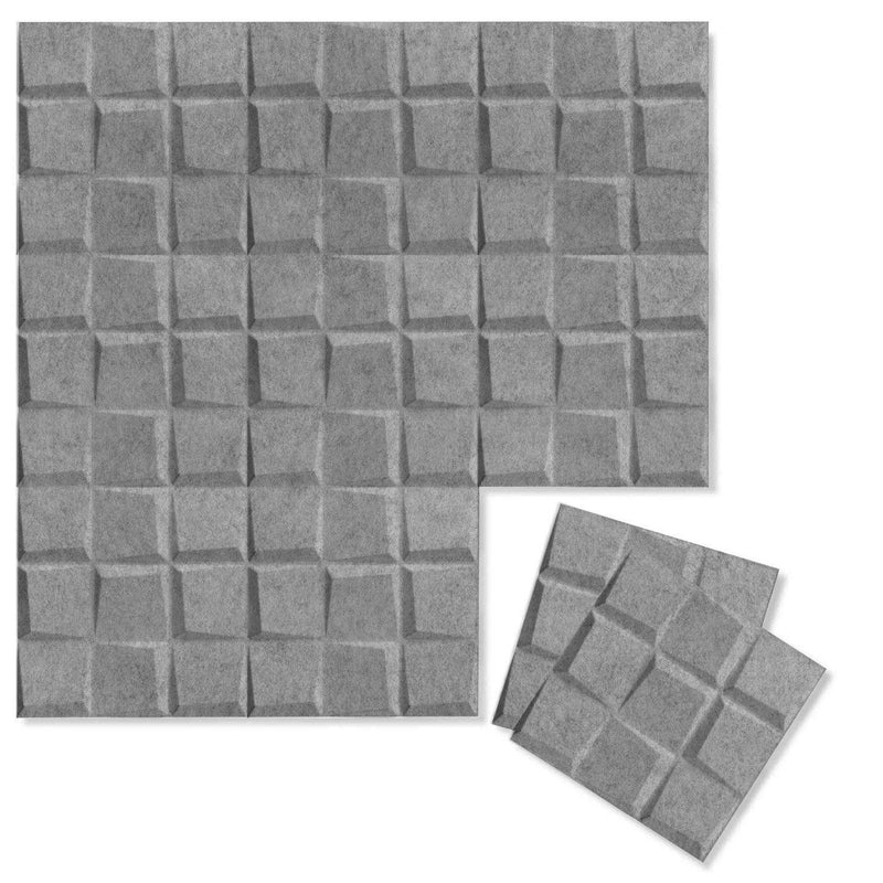 Felt 3D Wall Flats - Acoustic Panels - Cubit 3D PET Felt Wall Flats - 4 - Inhabit