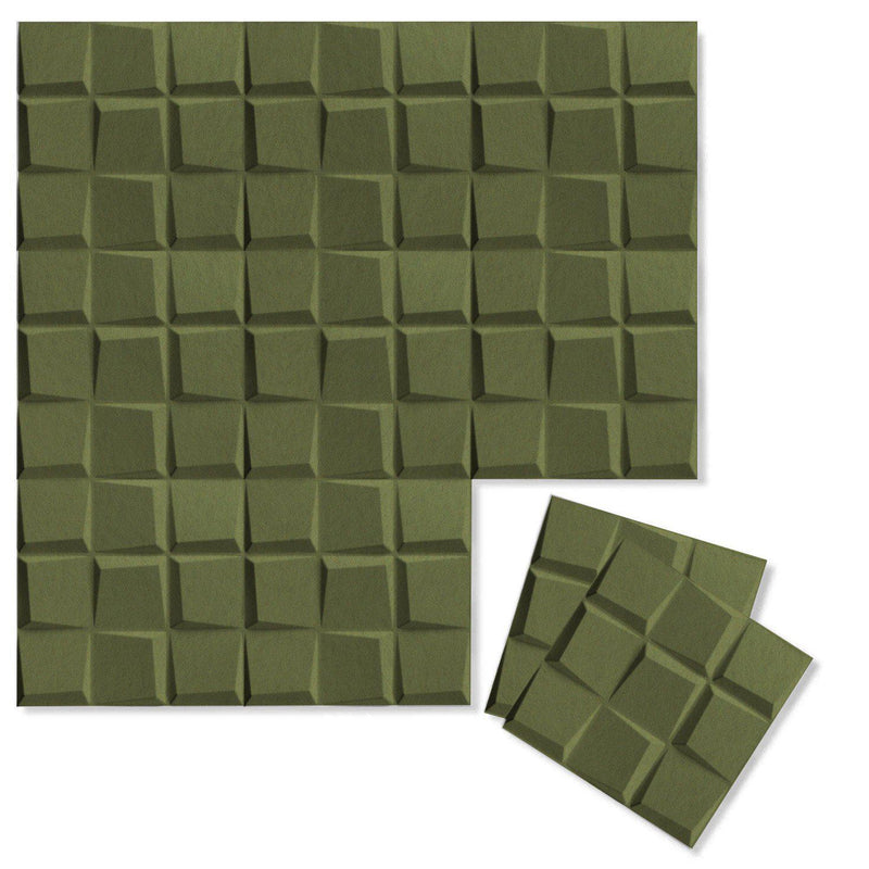 Felt 3D Wall Flats - Acoustic Panels - Cubit 3D PET Felt Wall Flats - 7 - Inhabit