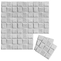 Felt 3D Wall Flats - Acoustic Panels - Cubit 3D PET Felt Wall Flats - 3 - Inhabit