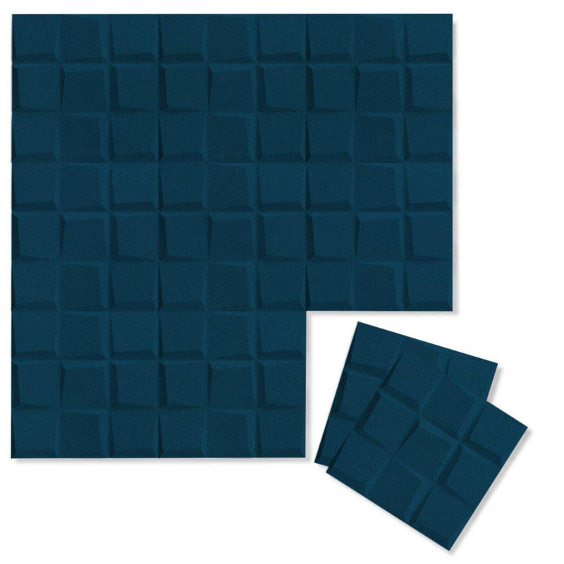 Felt 3D Wall Flats - Acoustic Panels - Cubit 3D PET Felt Wall Flats - 10 - Inhabit