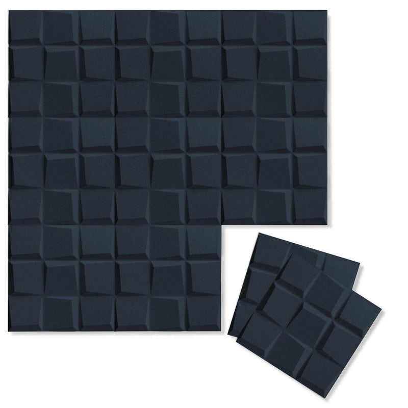 Felt 3D Wall Flats - Acoustic Panels - Cubit 3D PET Felt Wall Flats - 11 - Inhabit