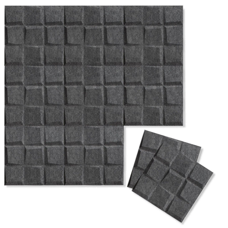 Felt 3D Wall Flats - Acoustic Panels - Cubit 3D PET Felt Wall Flats - 6 - Inhabit