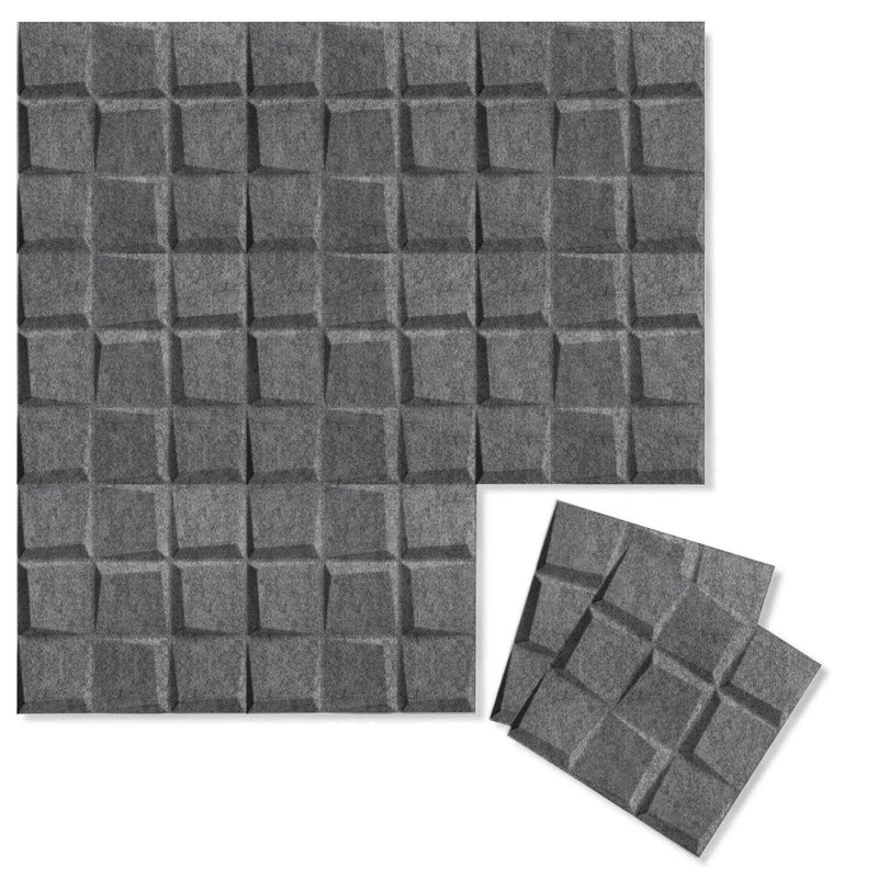 Felt 3D Wall Flats - Acoustic Panels - Cubit 3D PET Felt Wall Flats - 5 - Inhabit