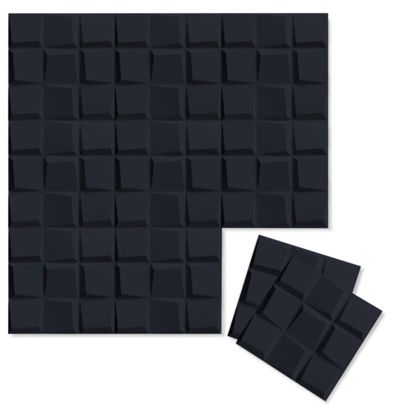 Luxe Supermatte Wall Flats - 3D Wall Panels - Cubit 3D Supermatte Wall Flats - 3 - Inhabit