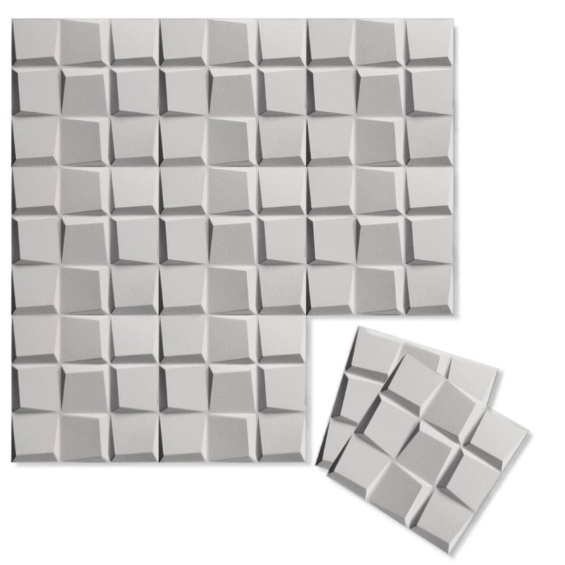 Luxe Supermatte Wall Flats - 3D Wall Panels - Cubit 3D Supermatte Wall Flats - 4 - Inhabit