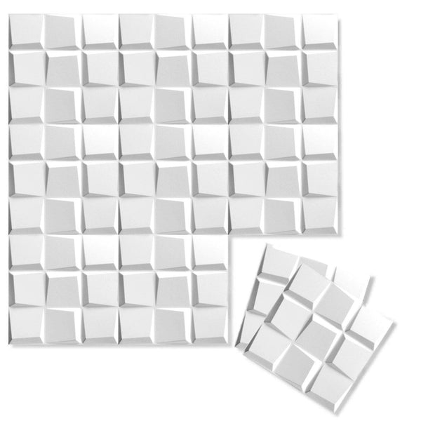 Luxe Supermatte Wall Flats - 3D Wall Panels - Cubit 3D Supermatte Wall Flats - 1 - Inhabit