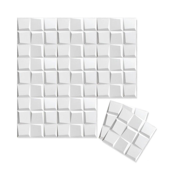 Wall Flats - 3D Wall Panels - Cubit Wall Flats - 2 - Inhabit