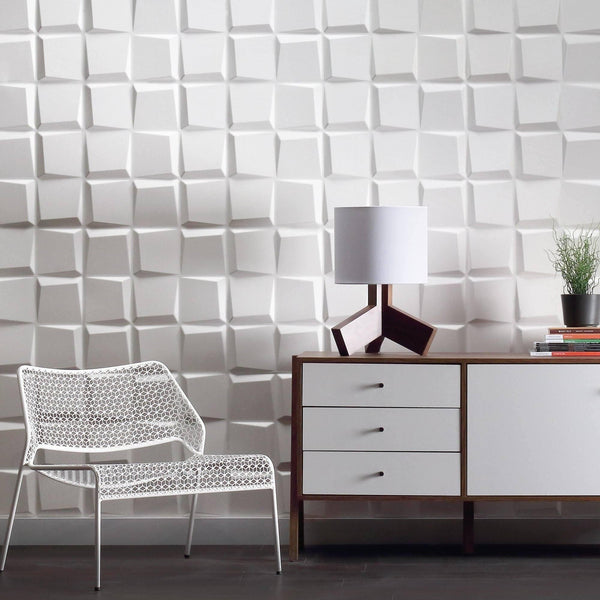 Cubit Paint Ready Wall Flats - 3D Wall Panels - Wall Flats - 3D Wall Panels - 1 - Inhabit