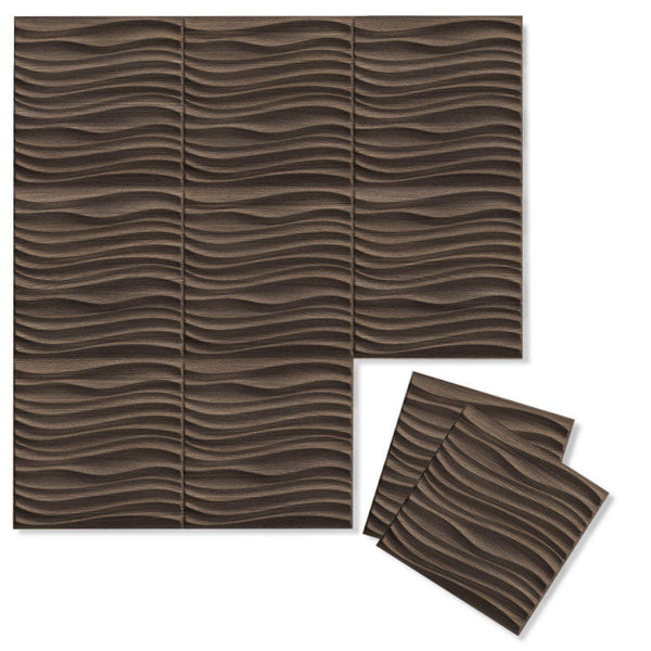 Luxe Supermatte Wall Flats - 3D Wall Panels - Current 3D Luxe Wall Flats - 1 - Inhabit