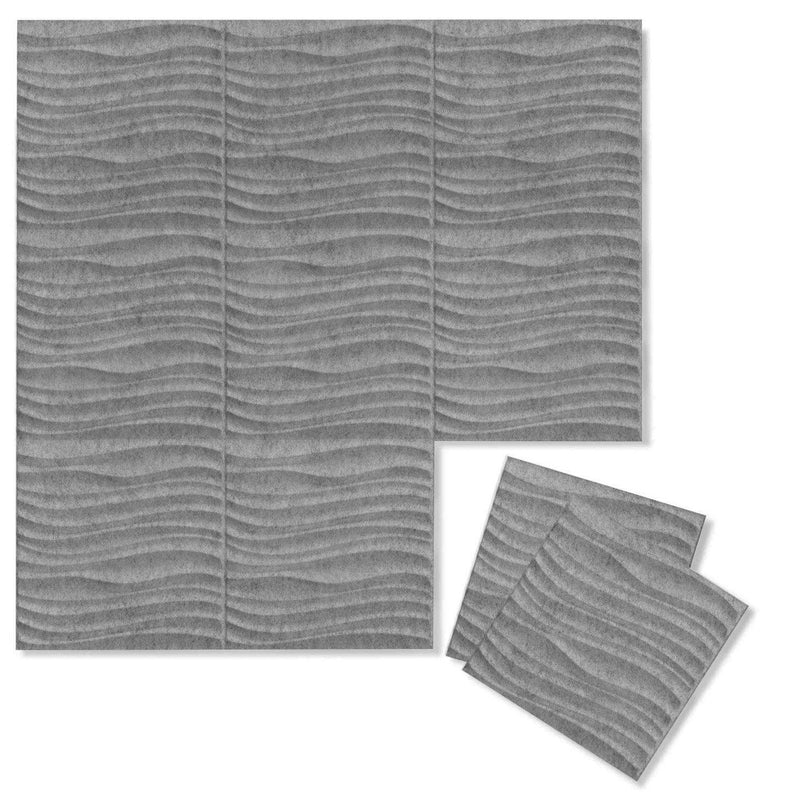 Current 3D PET Felt Wall Flats - Felt 3D Wall Flats - Acoustic Panels - 5 - Inhabit