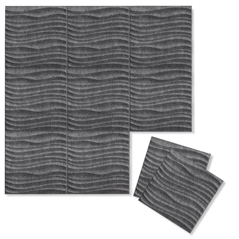 Felt 3D Wall Flats - Acoustic Panels - Current 3D PET Felt Wall Flats - 6 - Inhabit