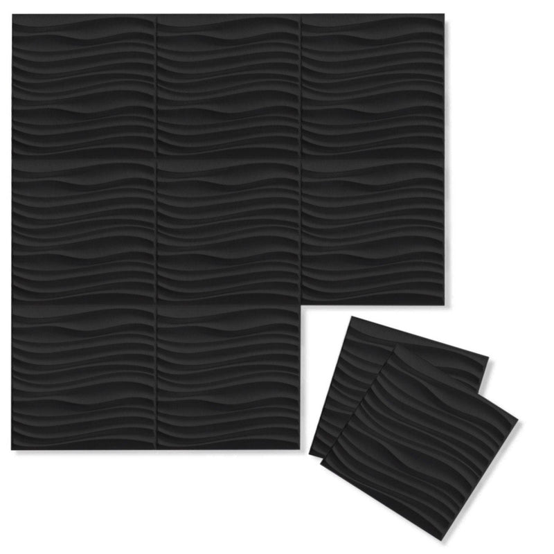 Current 3D PET Felt Wall Flats - Felt 3D Wall Flats - Acoustic Panels - 14 - Inhabit