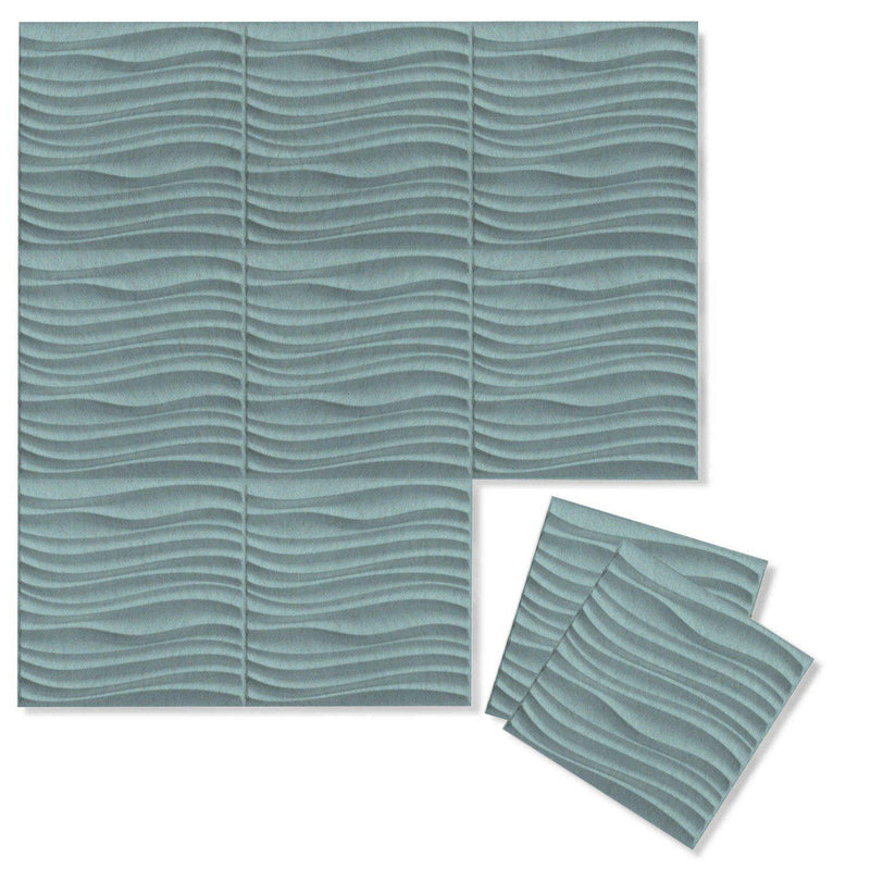 Current 3D PET Felt Wall Flats - Felt 3D Wall Flats - Acoustic Panels - 9 - Inhabit