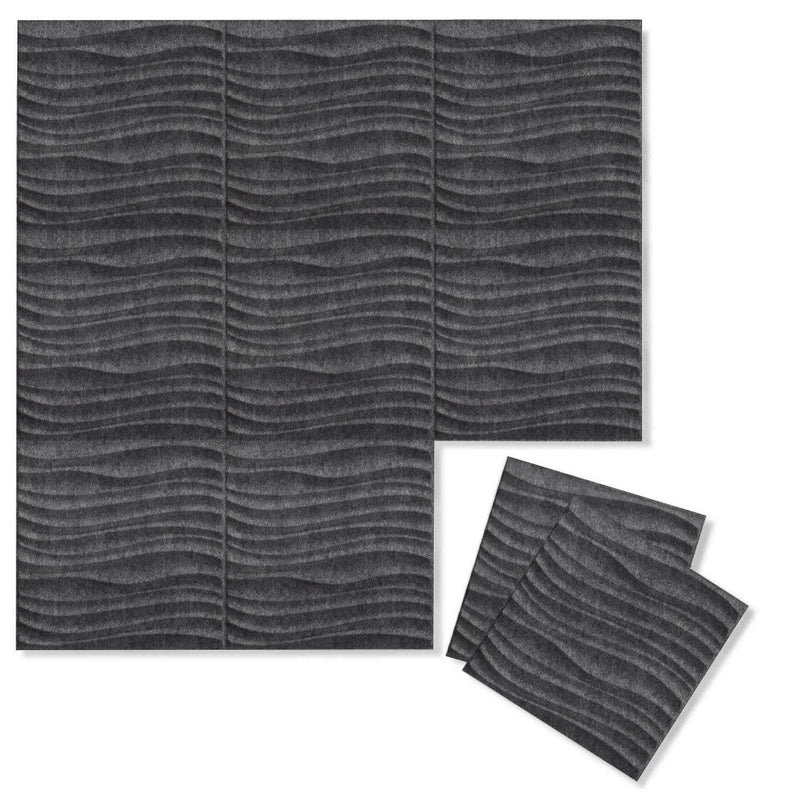 Felt 3D Wall Flats - Acoustic Panels - Current 3D PET Felt Wall Flats - 7 - Inhabit