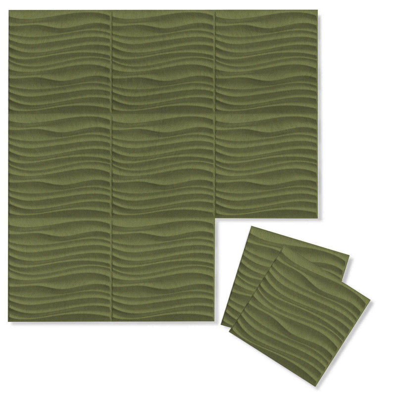 Felt 3D Wall Flats - Acoustic Panels - Current 3D PET Felt Wall Flats - 8 - Inhabit