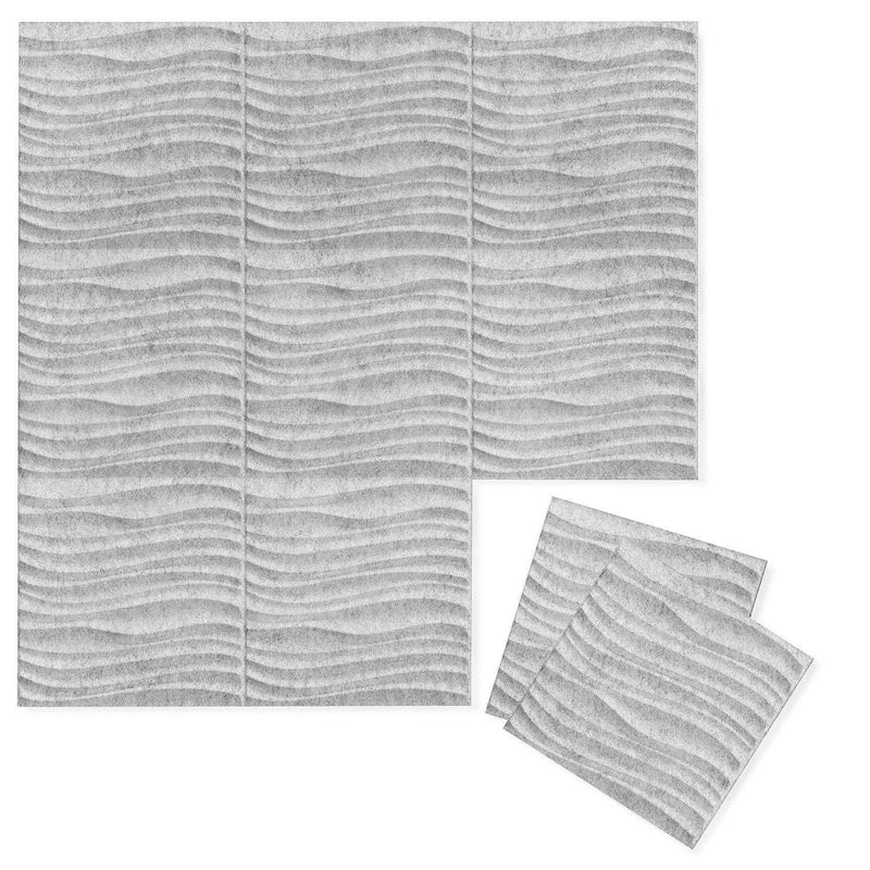 Felt 3D Wall Flats - Acoustic Panels - Current 3D PET Felt Wall Flats - 4 - Inhabit